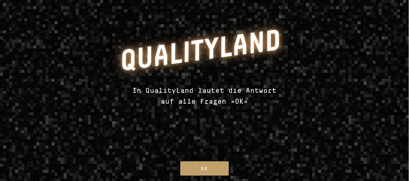 Editions of QualityLand by MarcUwe Kling