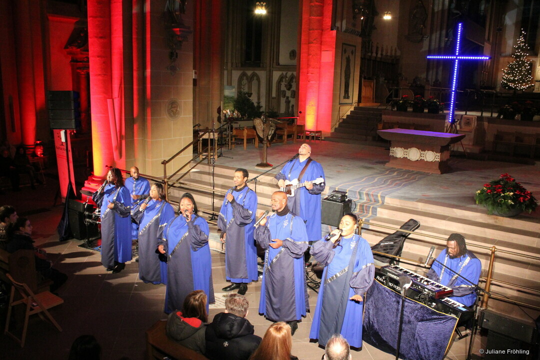 """The best of black music"" hat Gospelmusik als Lebenseinstellung"