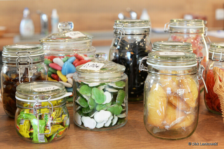 Candy Bar im Café Pan.