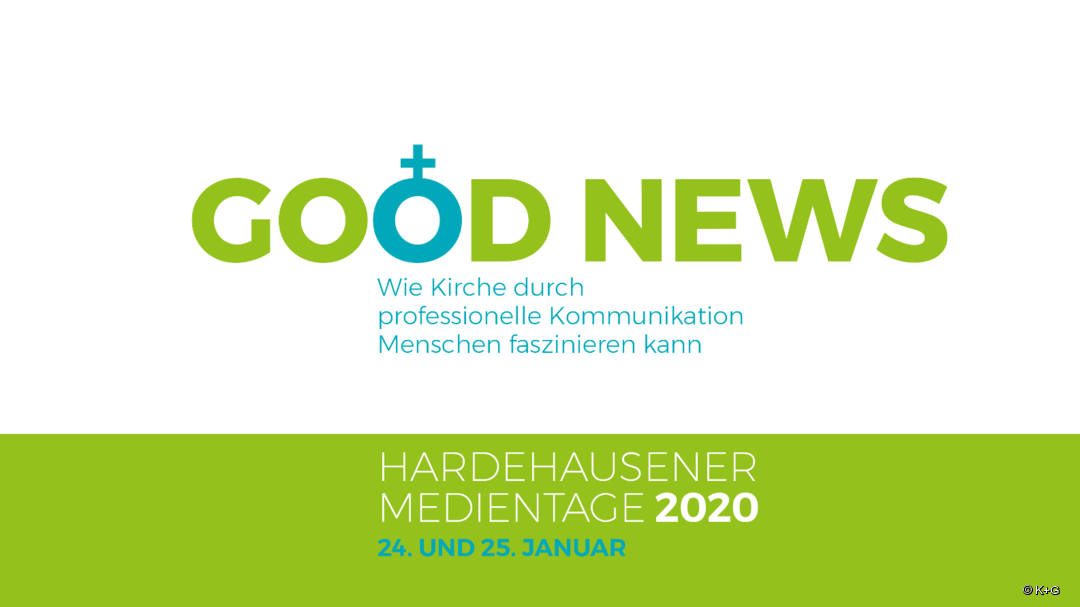 Good news - das Motto der Hardehausener Medientage 2020