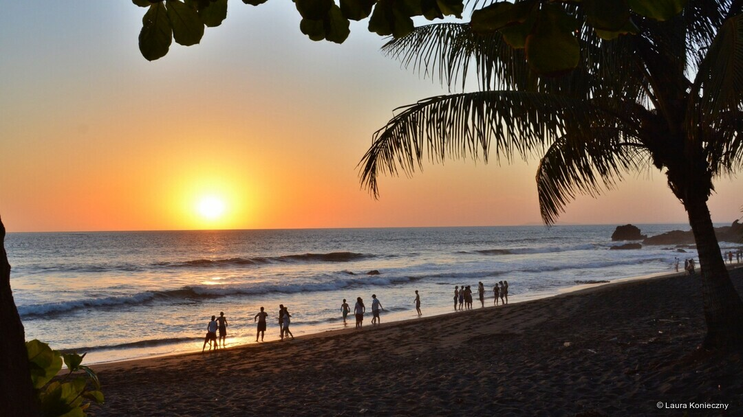 Strand in Jaco, Costa Rica