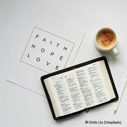 Faith Hope Love Bibel
