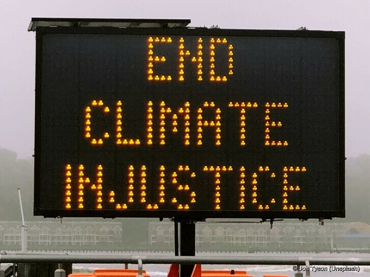 Stop climate injustice