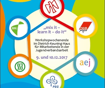 Mix it - learn it - do it: Workshopwochenende